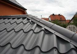 Plechová střecha cena m2
